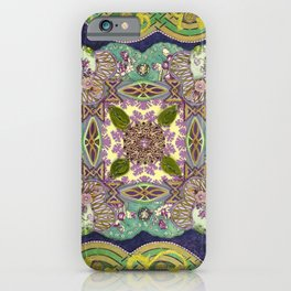 Intricate Garden iPhone Case