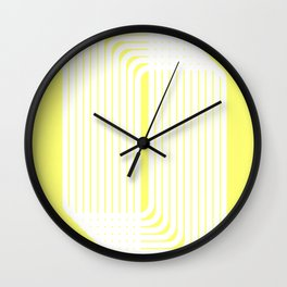 rounded squares Wall Clock