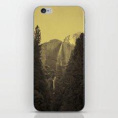 Yosemite Falls Tin Yellow iPhone & iPod Skin