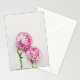 Pink Peonies 2 Stationery Cards