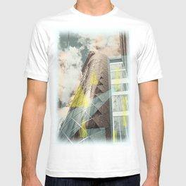 Blue & crystal T-shirt