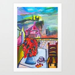 Room With A View  #society6 #decor #buyart Art Print