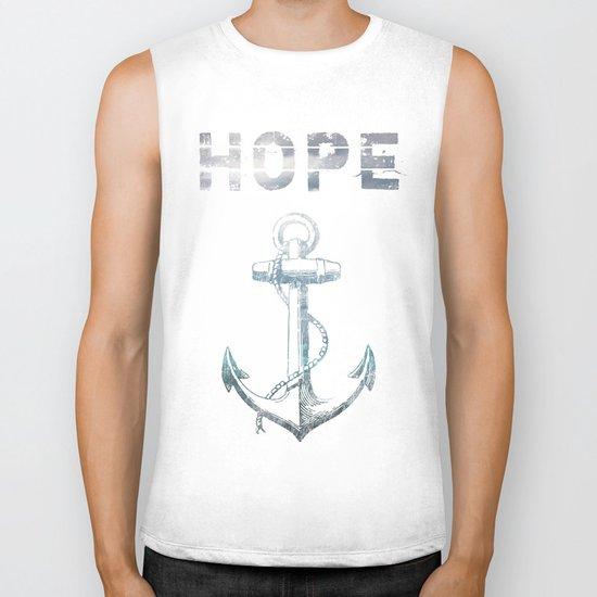 Hope Anchor Biker Tank