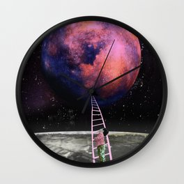 Pink Planet is my Favorite Wall Clock