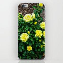 Floral Print 091 iPhone Skin