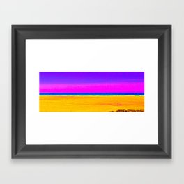 Sea Sand and Sun ! Framed Art Print