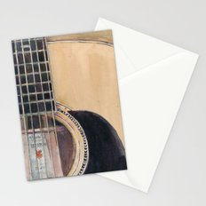 Martin Acoustic Guitar  SSC-D35-14 - from Canada - Watercolor Art Print Stationery Cards