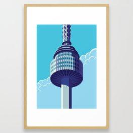 N Tower - Seoul Framed Art Print
