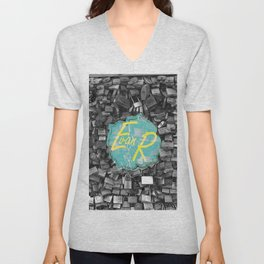 Evan Rivas Design Locks Unisex V-Neck