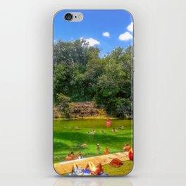Barton Springs at Zilker Park - Austin, Texas iPhone Skin