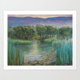 Madrona Marsh Art Print