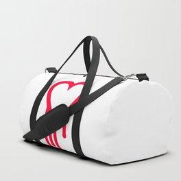 Bleeding heart Duffle Bag
