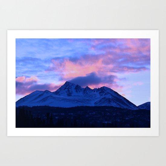 Serenity Rose Sunrise III Art Print