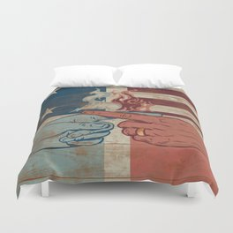 Blame US Duvet Cover