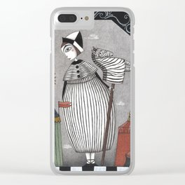 A Circus Story Clear iPhone Case