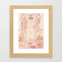 Blume Framed Art Print