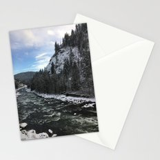 Snowy banks Stationery Cards