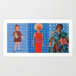 THE EVOLUTION OF BETSY Art Print