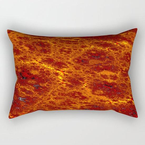 fine desert structures Rectangular Pillow