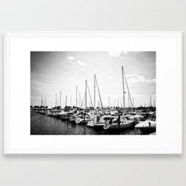 McKinley Marina Framed Art Print