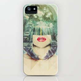 If you don know where you going, any road will get you there. iPhone Case