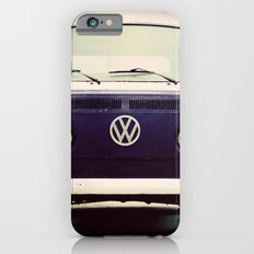 Vintage Blue Bus iPhone 6s Slim Case