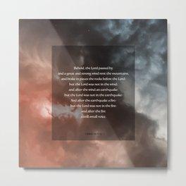 A Still Small Voice Metal Print
