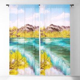 Emerald Falls Blackout Curtain