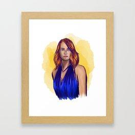 Mia - La La Land Framed Art Print
