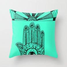 ▲△ Throw Pillow