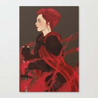knight Canvas Prints featuring Knight. by Noble Demons