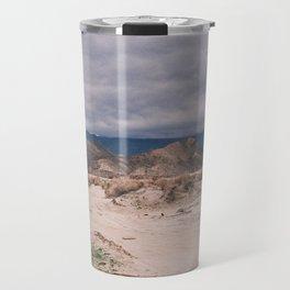 storm over the desert Travel Mug