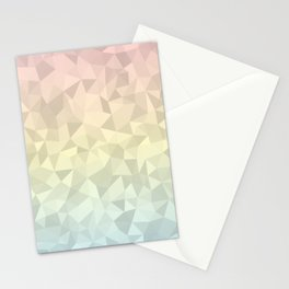 Pastel Ombre 4 Stationery Cards