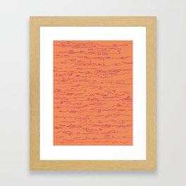 Western vibe Framed Art Print