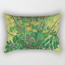 Bouquet from the Finnish Bay Rectangular Pillow