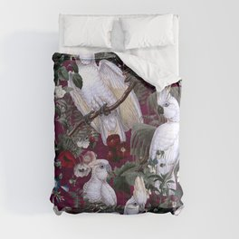 Floral and Birds XLI Comforters