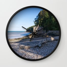 Elberry Cove - Agatha Christie's Favourite Bathing Spot Wall Clock