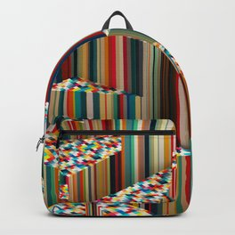 Stretched Pattern Backpack