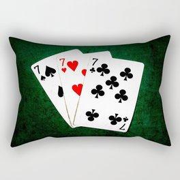 Blackjack Twenty One Rectangular Pillow