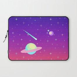 Pixelated Galaxy Laptop Sleeve