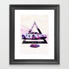 Ford Gt40// Le Mans Race Cars Framed Art Print