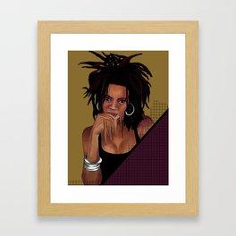 I Used To Love Him, Now I Don't Framed Art Print