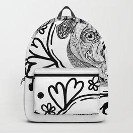 buldog doodle Backpack
