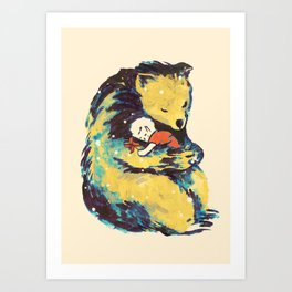 You Are My Best Friend Art Print