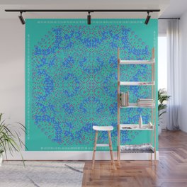 "CA Fantasy ""For Tiffany color"" series #10 Wall Mural"