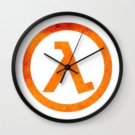 Half Life Rust Wall Clock