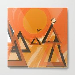 abstrackt landscape Metal Print
