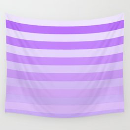 Purple Stripes Fade Wall Tapestry
