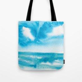 Split Sky Tote Bag