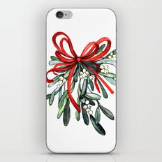 Branch of mistletoe iPhone & iPod Skin